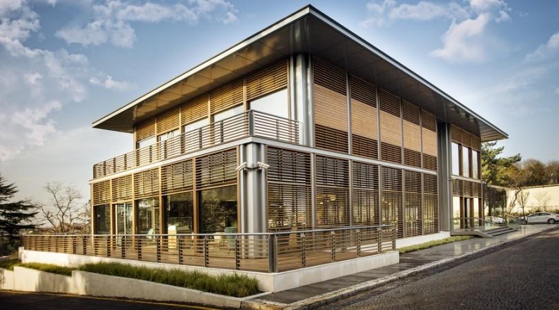 Türkiye'nin ilk LEED ND adayı olan KÖY'ün Satış Ofisi'ne LEED Gold Sertifikası