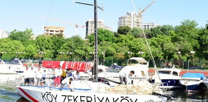 Turkcell Platinum Bosphorus Cup 2015 Ana Sponsoru KÖY Sailing Team Antrenman