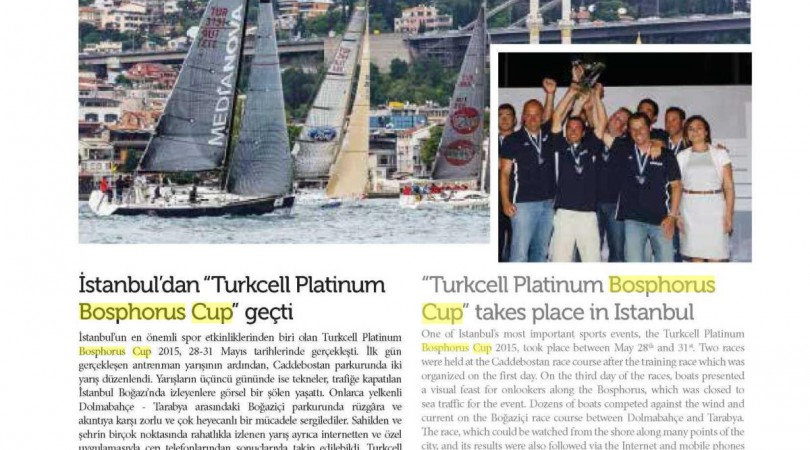 """İstanbul'dan """"Köy – Zekeriyaköy Bosphorus Cup"""" Geçti"""